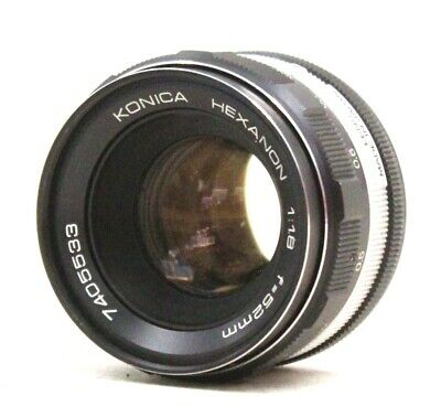 KONICA HEXANON 52mm f/1.8 Konica Mount Camera Lens  - P15