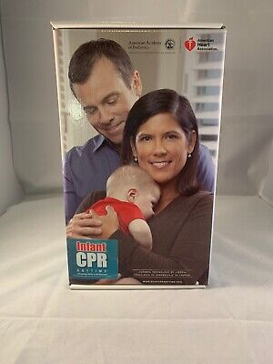 Infant CPR Anytime Kit DVD Manikin Bilingual Instructions Lifesaving Laedal Baby