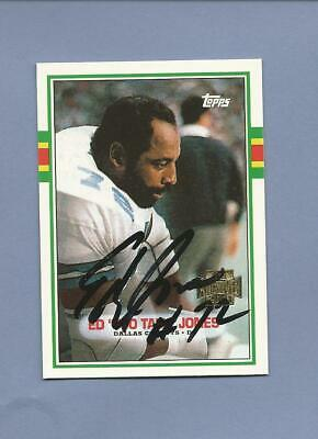 "ED ""Too Tall) JONES Cowboys (signed) 2001 Topps Archives Card"
