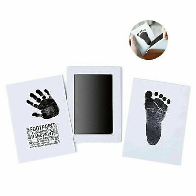 Baby Handprint And Footprint Ink Pads Paw Print Ink Kits For Baby And Pets L6O2E