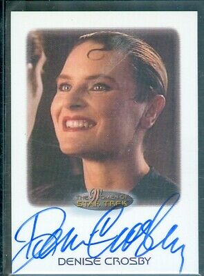 Star Trek Women of  Denise Crosby as Lt Tash Yar Autograph Card