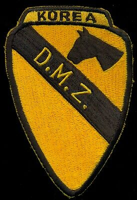 US Army 1st Cavalry Division Korea DMZ Patch N-28