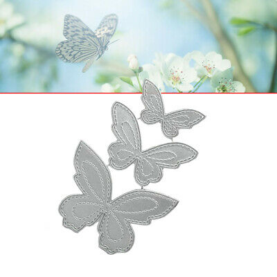 Butterfly Metal Cutting Dies DIY Stencil Scrapbooking Paper Card Decor Embossing