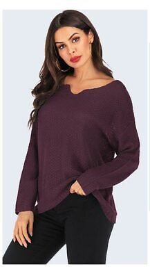 Women's Blouse Long Sleeve Sweater Casual T-shirt Knitted sweater Fashion Loose