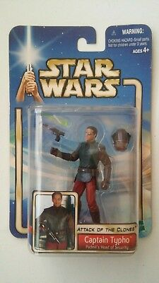 star wars SAGA CAPTAIN TYPHO action figure MOC AOTC Attack Of The Clones