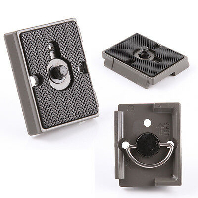 Camera Tripod Quick Release Plate for Manfrotto QR 200PL-14 323 RC2 Compatible