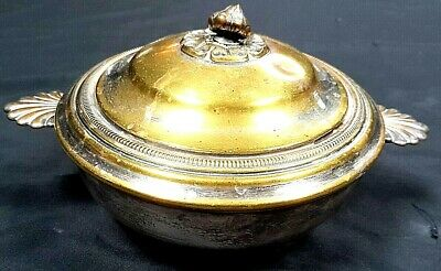 Impressive Antique Victorian French Silver Plated Serving Tureen Dish c1870