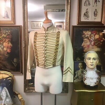 """Stunning Men's Hussars Jacket by """"English National Opera"""" From """"Eugene Onegin"""""""