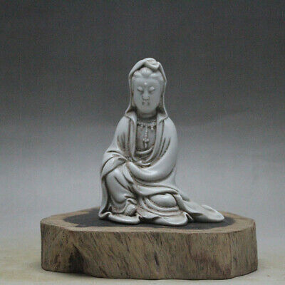 Chinese ancient antique hand make Guanyin  statue a188
