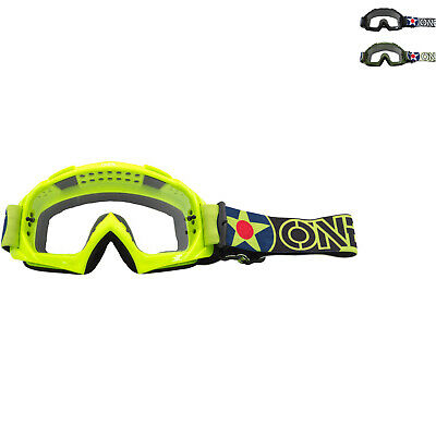 Oneal B-10 2020 Warhawk Motocross Goggles Off Road Adventure Enduro Protection