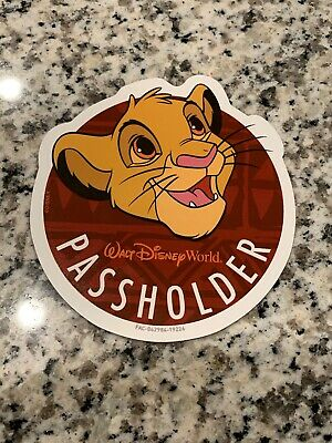 GENUINE Disney Annual Passholder Simba Magnet Lion King Limited OFFICIAL WDW