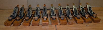 Rare 11 pc Stanley No 27 transitional convex plane 2 - 1 2 pattern makers tool
