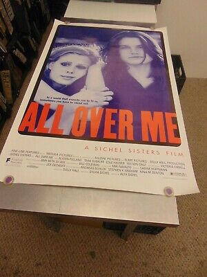 All Over Me 1997 Alison Folland Lgbtq Movie Poster N6673