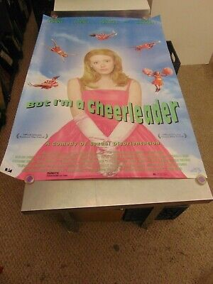 But I'm A Cheerleader 1999 Natasha Leonne Lgbtq Movie Poster N6707