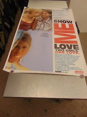 Show Me Love 1998 Lukas Moodysson Lgbtq Movie Poster N6699