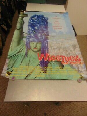 Wigstock 1995 Ru Paul Documentary Lgbtq Movie Poster N6708