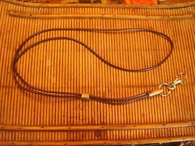 Handcrafted Leather  Whistle Lanyard