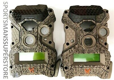 Qty 2 Used Wildgame RIVAL 20 Lightsout Blackout 20 MP Trail Game Camera 2628B