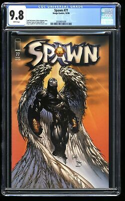 Spawn #77 CGC NM/M 9.8 White Pages 1st Archangel Spawn!