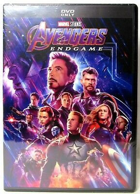 AVENGERS: ENDGAME 2019 DVD (Marvel Studios) >NEW< Robert Downey Jr.
