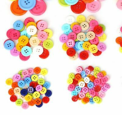 Multi Sizes Round Resin Mini Tiny Buttons Sewing 3mm