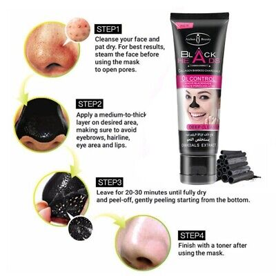 PILATEN Blackhead Remover Deep Cleansing Purifying Peel Black Suction Face Masks