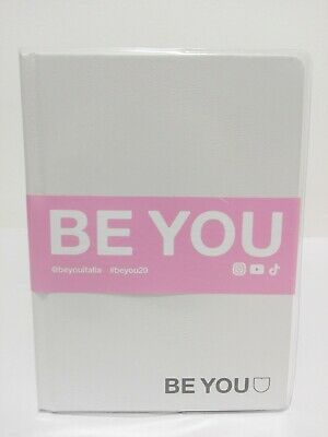 Diario Be you datato 12 mesi dimensioni 19 x 14 x 3 cm con fascetta rosa
