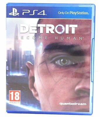 DETROIT BECOME HUMAN Video Game for PS4 / Playstation 4  - P31
