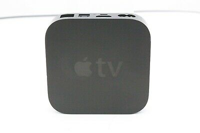 Apple TV (3rd Generation) 8GB Digital HD Media Streamer - Black - C Grade