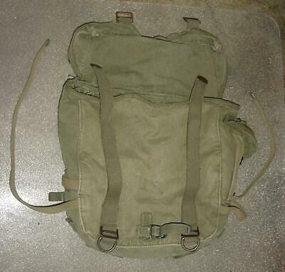 "Vintage US Military 1945 WW2 Era  Field Pack 12"" By 12"" Size"