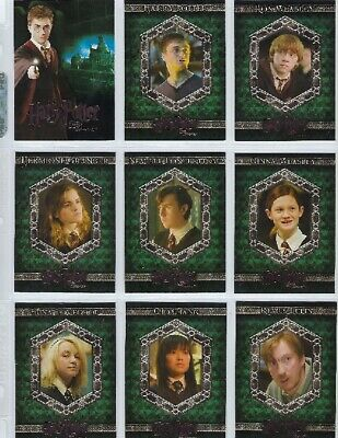 Harry Potter Order of the Phoenix BASE SET of 90 cards