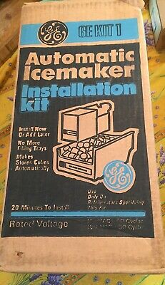 NEW AUTOMATIC ICE MAKER INSTALLATION KIT  KIT 1 Icemaker GE