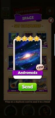 Coin Master 2x Andromeda Cards