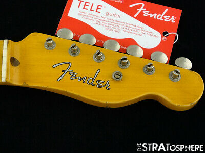 USA Fender Custom Shop 2019 NAMM 51 Nocaster Relic NECK + TUNERS Telecaster Tele
