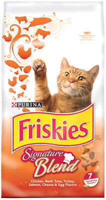 Purina  Friskies Grillers  Grillers  Dry  Cat  Food  6.3 lb.