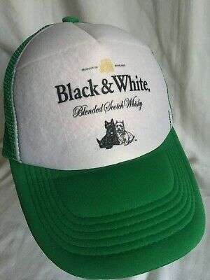 Black & White Whisky trucker hat-scotch whisky