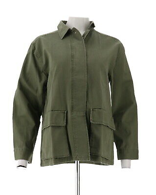 Daisy Fuentes Sequin Military Jacket Parrot L NEW 595-660