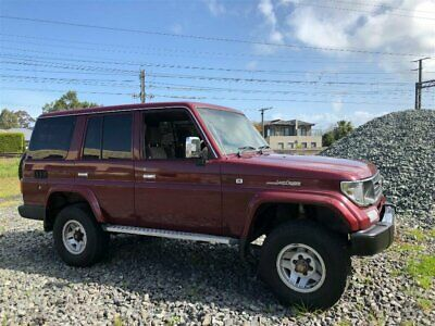1996 Toyota Landcruiser GXL (4x4) Maroon Automatic 4sp A Wagon