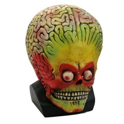 Halloween Party Latex Skull Mask Horror Alien Personality Funny Novelty  Mask