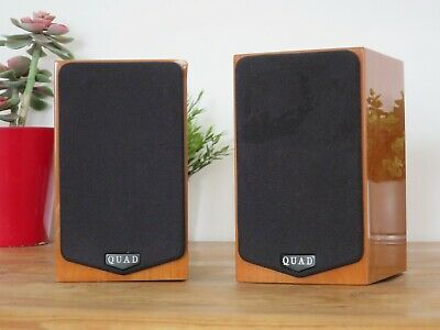 Quad L-ite Satellite Speakers With Wall Mounts