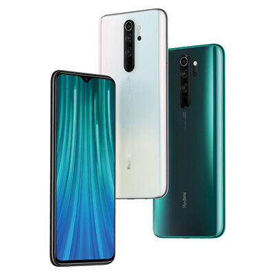 "Xiaomi Redmi Note 8 Pro 6+64GB Smartphone Handy 6.53"" Quick Charge 4500mAh"
