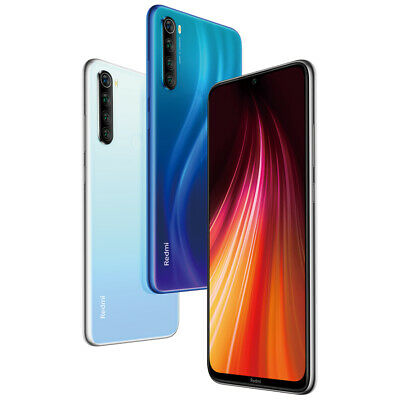 "Xiaomi Redmi Note 8 4+64GB Smartphone Handy Snapdragon Core 6.3"" Quad Cameras"