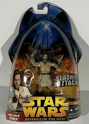 Star Wars Obi-Wan Kenobi #1 Revenge Of The Sith ROTS Action Figure 2005