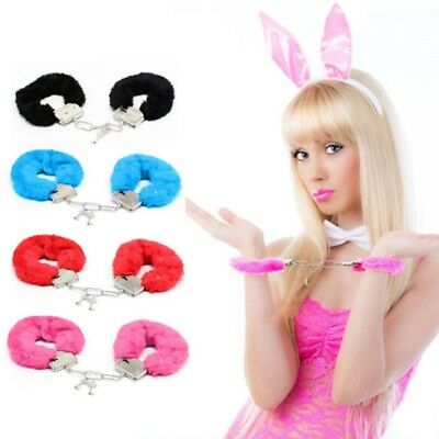 Soft Metal Handcuffs Chastity Bondage Night Party Role-playing Sex Women Toys HQ