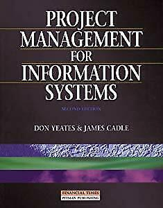 Project Management for Information Systems, Cadle, James, Used; Good Book