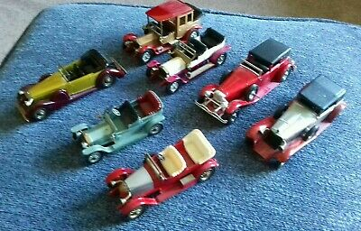 Job Lot Matchbox Models of Yesteryear x 7 (unboxed but nice condition)