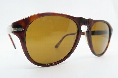 Vintage Persol sunglasses acetate Mod 649/3 size 54-20 etched lens made in Italy