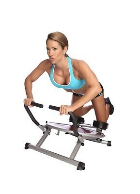 AB Circle Pro Machine As Seen On TV DVD Included Core Home and Exercise Fitness