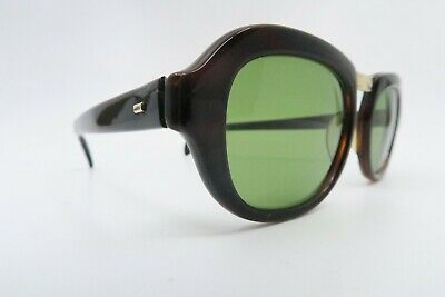 Vintage late 50s early 60s acetate and gold filled sunglasses Sol Amor France