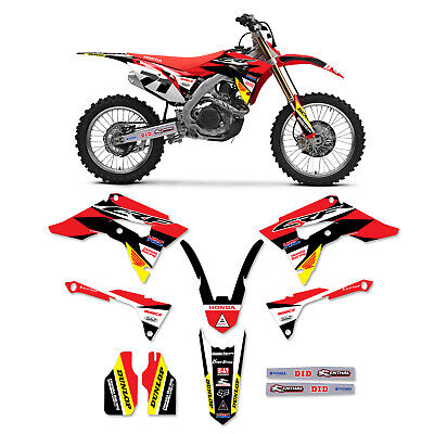2017 2018  2019 Honda CRF 450 Graphics and Number Plate Graphics HRC Racing